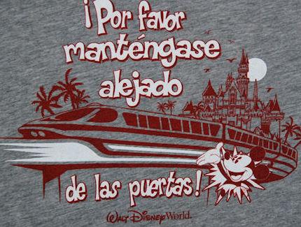 Por Favor Mant 233 Ngase Alejado De Las Puertas Disney S